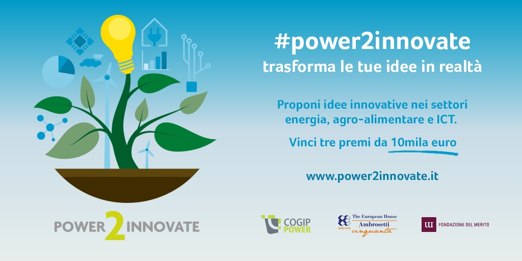 Power2innovate, cogippower, the european house ambrosetti, fondazione del merito