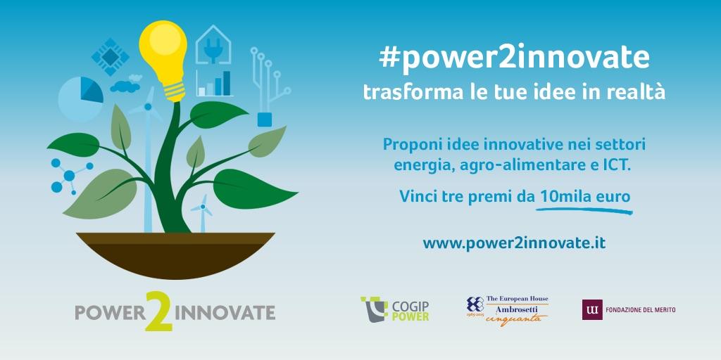 Power2innovate, cogippower, the european house ambrosetti, fondazione del merito