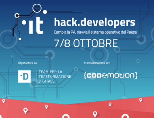 Zemove con l'Hack.Developers a Lecce