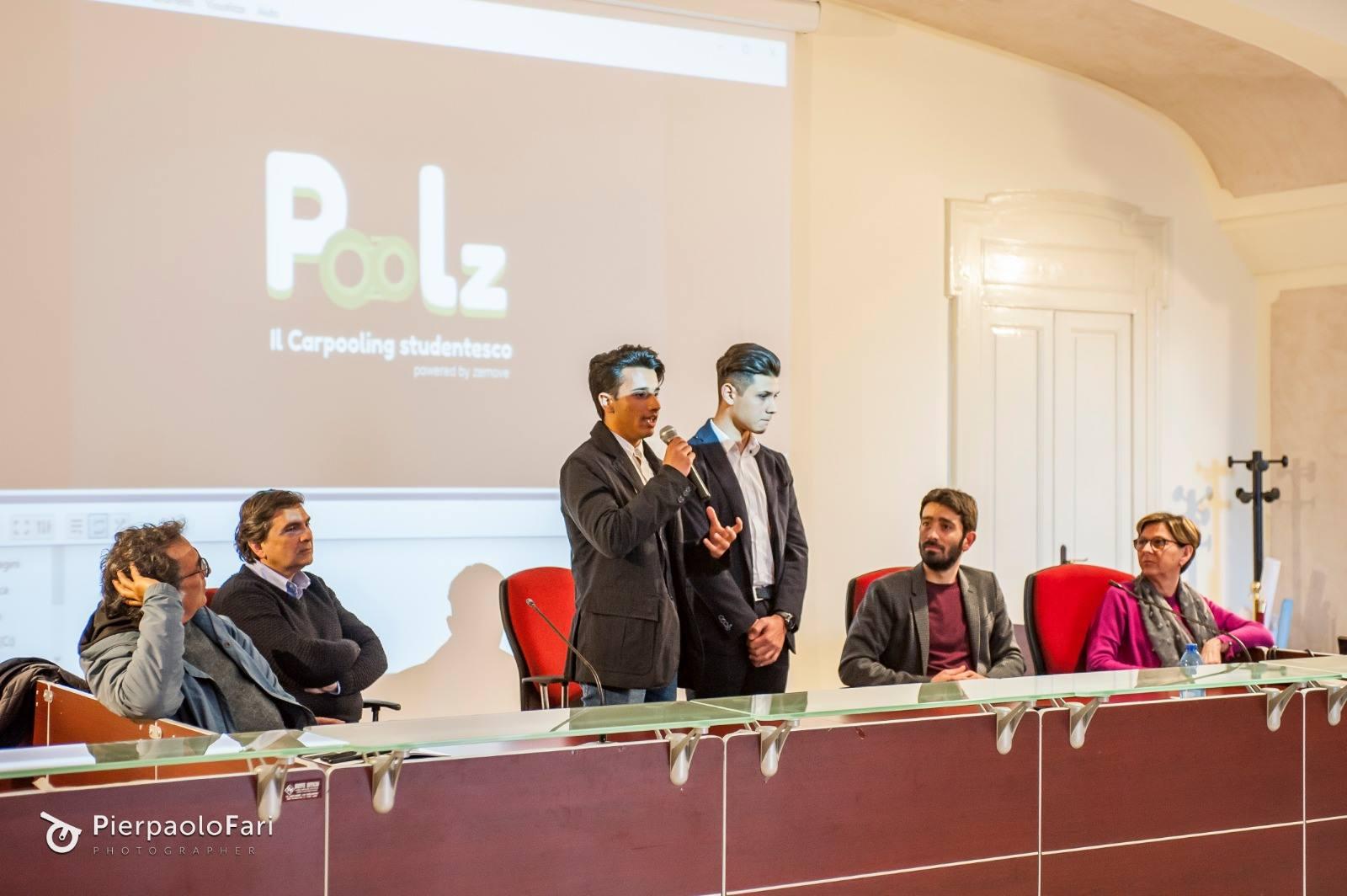 poolz conferenza stampa lancio