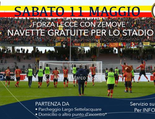 Per Lecce Spezia nasce l'iniziativa Forza Lecce con Zemove.