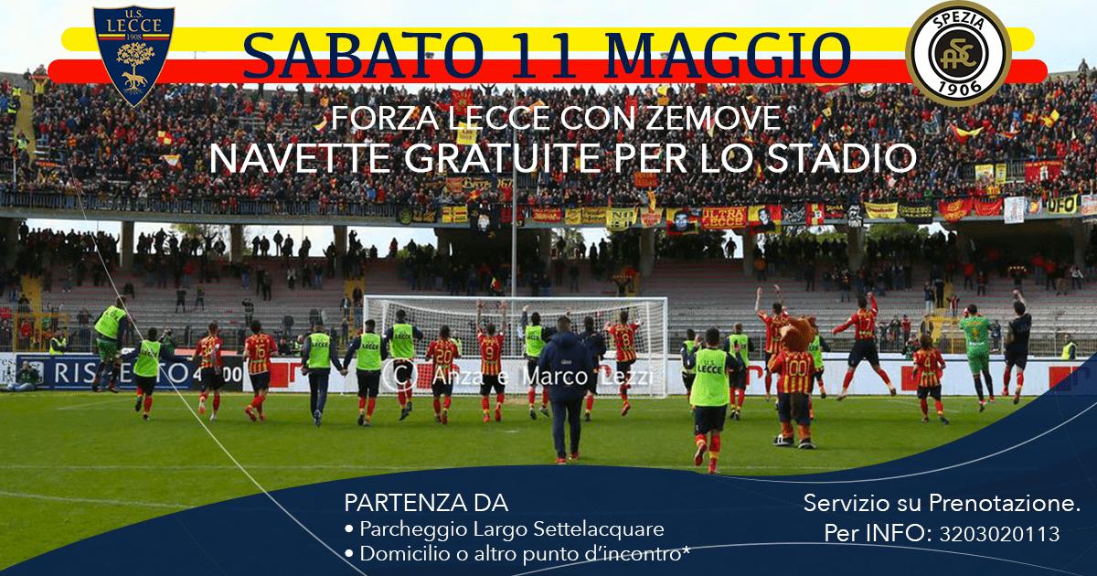 Forza Lecce con Zemove