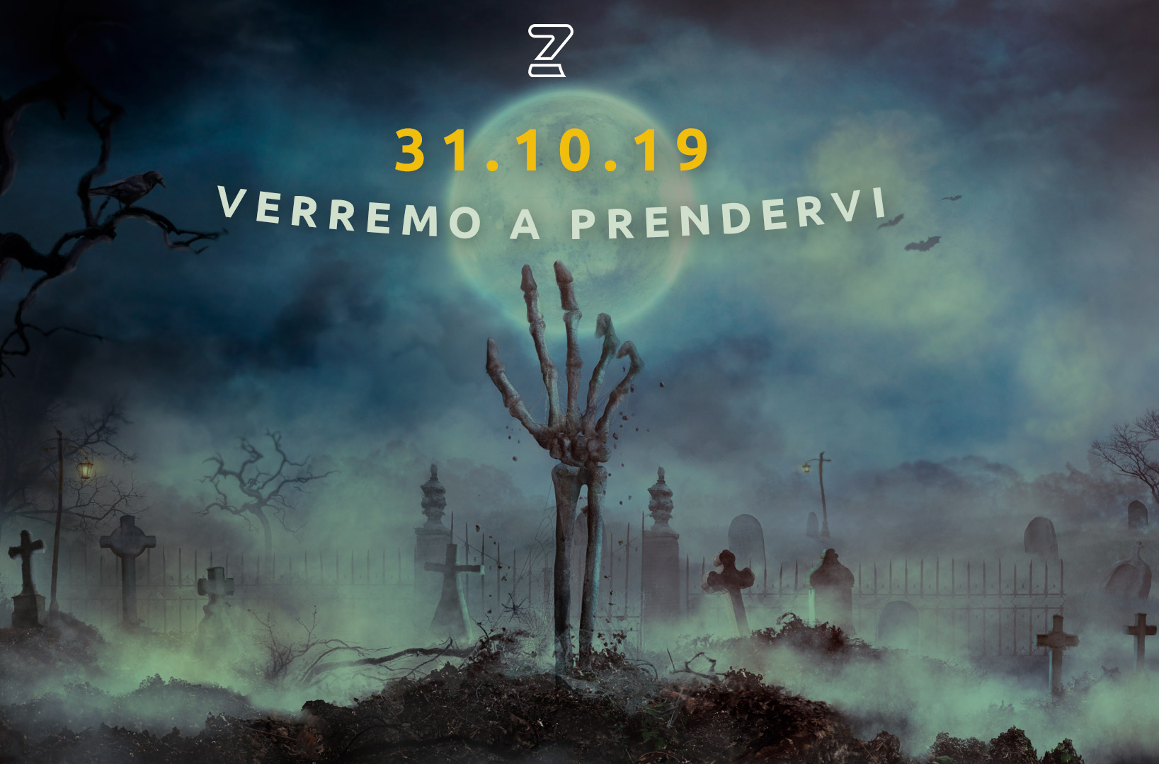 Verremo a prenderti! Preparati per la notte di Halloween 2019
